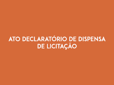 ato declar de dispensa