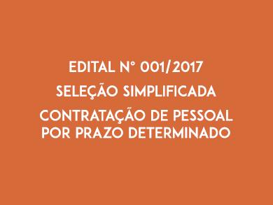 Edital N 001-2017